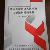 《文安县新镇镇人民政府内部控制规范手册》