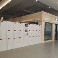 汉口火车站站内寄存柜